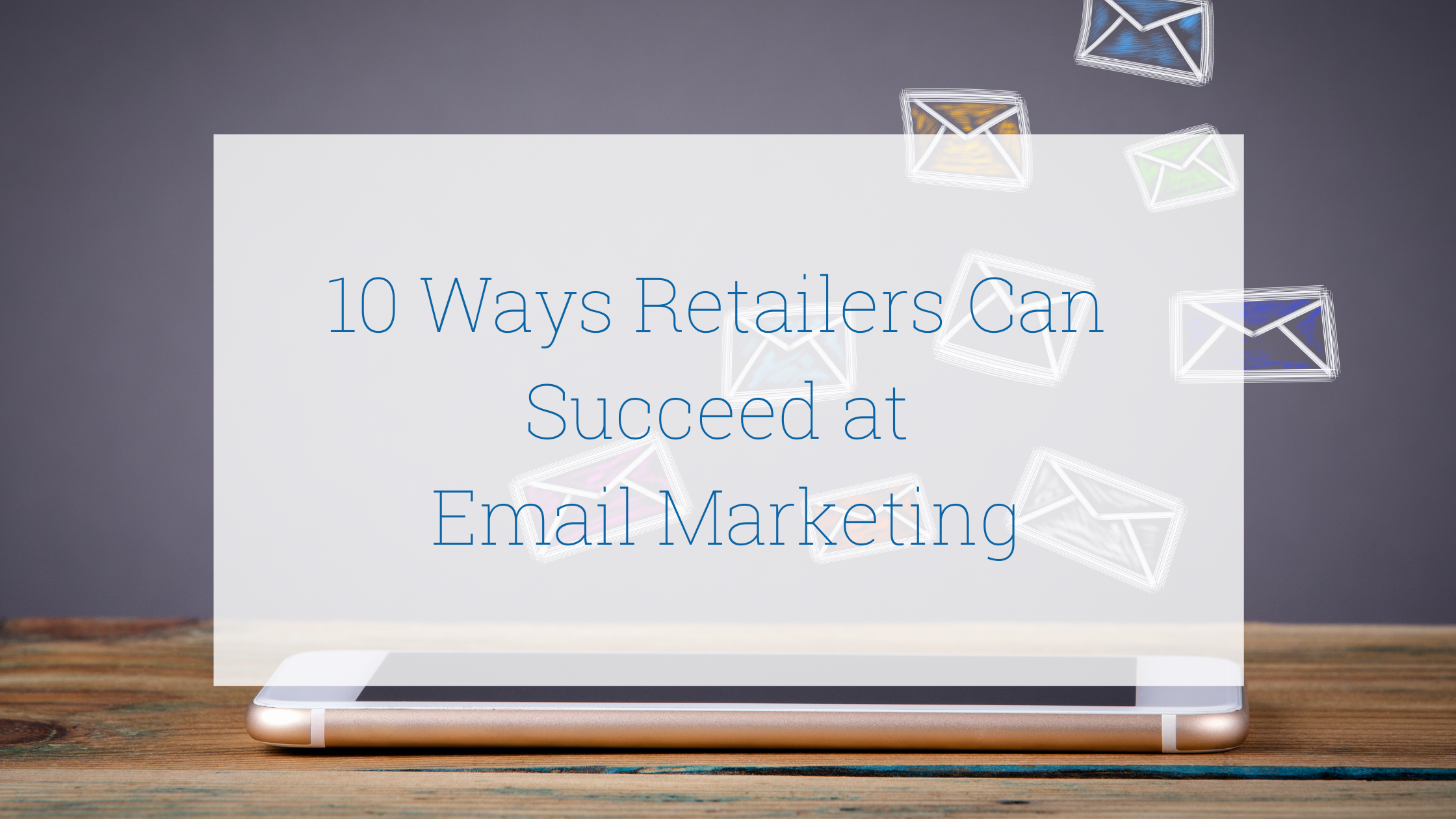 email marketing for retailers