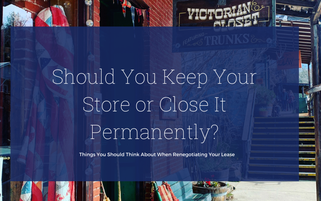 Rethinking Retail: Is It Worth Keeping Your Store Open?